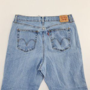 Levi's 550 Womens Bootcut Relaxed Denim Jeans Moms